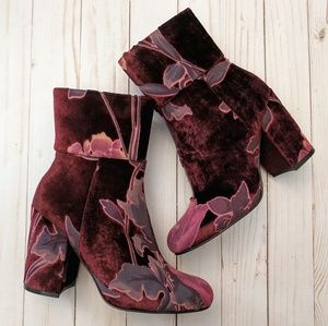 Steve Madden | Goldie burgundy boots 6.5 NWT